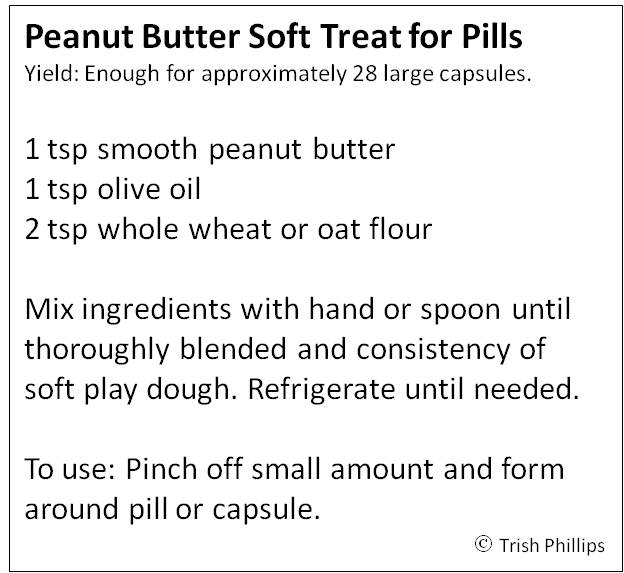 Peanut Butter Pill Treats